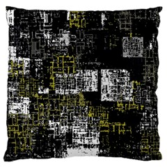 Abstract Art Large Cushion Case (one Side) by ValentinaDesign
