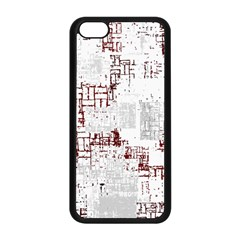 Abstract Art Apple Iphone 5c Seamless Case (black) by ValentinaDesign