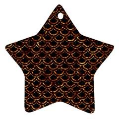 Scales2 Black Marble & Copper Foilscales2 Black Marble & Copper Foil Ornament (star) by trendistuff