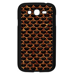 Scales3 Black Marble & Copper Foil Samsung Galaxy Grand Duos I9082 Case (black) by trendistuff