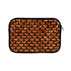 Scales3 Black Marble & Copper Foil (r) Apple Ipad Mini Zipper Cases by trendistuff