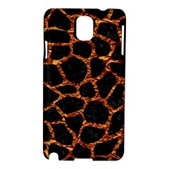 Skin1 Black Marble & Copper Foil (r) Samsung Galaxy Note 3 N9005 Hardshell Case by trendistuff