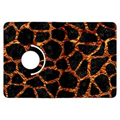 Skin1 Black Marble & Copper Foil (r) Kindle Fire Hdx Flip 360 Case by trendistuff