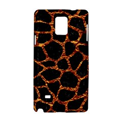 Skin1 Black Marble & Copper Foil (r) Samsung Galaxy Note 4 Hardshell Case by trendistuff