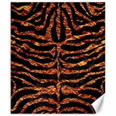 Skin2 Black Marble & Copper Foil Canvas 20  X 24   by trendistuff