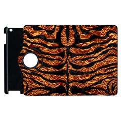 Skin2 Black Marble & Copper Foil (r) Apple Ipad 2 Flip 360 Case by trendistuff