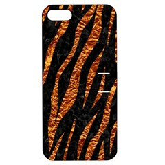 Skin3 Black Marble & Copper Foil Apple Iphone 5 Hardshell Case With Stand by trendistuff