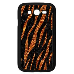 Skin3 Black Marble & Copper Foil Samsung Galaxy Grand Duos I9082 Case (black) by trendistuff