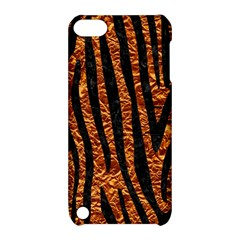 Skin4 Black Marble & Copper Foil Apple Ipod Touch 5 Hardshell Case With Stand by trendistuff