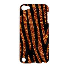 Skin4 Black Marble & Copper Foil (r) Apple Ipod Touch 5 Hardshell Case by trendistuff