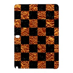 Square1 Black Marble & Copper Foil Samsung Galaxy Tab Pro 12 2 Hardshell Case by trendistuff