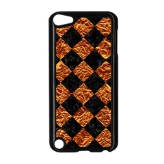 Square2 Black Marble & Copper Foilsquare2 Black Marble & Copper Foil Apple Ipod Touch 5 Case (black) by trendistuff