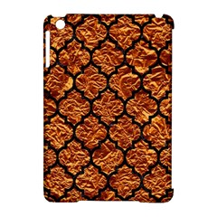 Tile1 Black Marble & Copper Foil (r) Apple Ipad Mini Hardshell Case (compatible With Smart Cover) by trendistuff