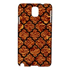 Tile1 Black Marble & Copper Foil (r) Samsung Galaxy Note 3 N9005 Hardshell Case by trendistuff