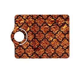 Tile1 Black Marble & Copper Foil (r) Kindle Fire Hd (2013) Flip 360 Case by trendistuff
