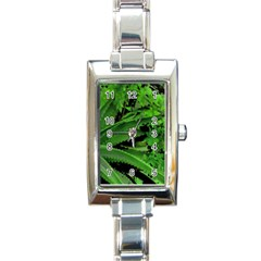 Vivid Tropical Design Rectangle Italian Charm Watch by dflcprints