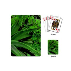 Vivid Tropical Design Playing Cards (mini)  by dflcprints