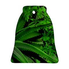 Vivid Tropical Design Bell Ornament (two Sides) by dflcprints