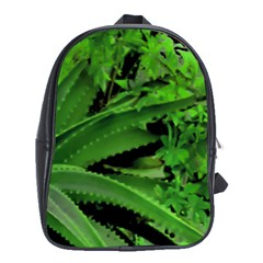Vivid Tropical Design School Bag (xl) by dflcprints