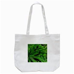 Vivid Tropical Design Tote Bag (white) by dflcprints