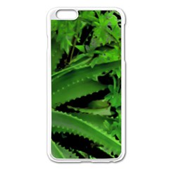 Vivid Tropical Design Apple Iphone 6 Plus/6s Plus Enamel White Case by dflcprints