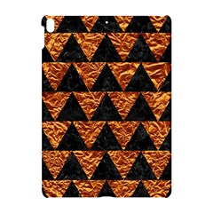 Triangle2 Black Marble & Copper Foil Apple Ipad Pro 10 5   Hardshell Case by trendistuff