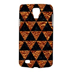 Triangle3 Black Marble & Copper Foil Galaxy S4 Active by trendistuff