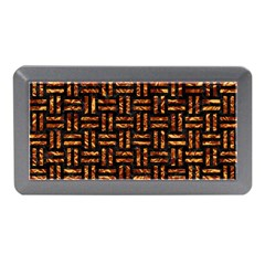 Woven1 Black Marble & Copper Foil Memory Card Reader (mini)