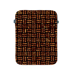 Woven1 Black Marble & Copper Foil Apple Ipad 2/3/4 Protective Soft Cases by trendistuff