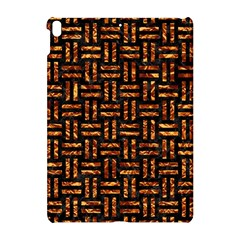 Woven1 Black Marble & Copper Foil Apple Ipad Pro 10 5   Hardshell Case by trendistuff
