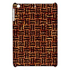 Woven1 Black Marble & Copper Foil (r) Apple Ipad Mini Hardshell Case by trendistuff