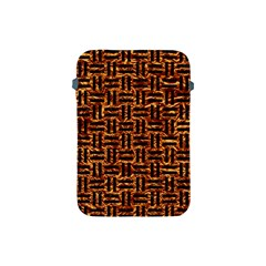 Woven1 Black Marble & Copper Foil (r) Apple Ipad Mini Protective Soft Cases by trendistuff