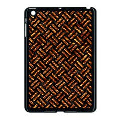 Woven2 Black Marble & Copper Foil Apple Ipad Mini Case (black) by trendistuff