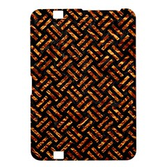 Woven2 Black Marble & Copper Foil Kindle Fire Hd 8 9  by trendistuff