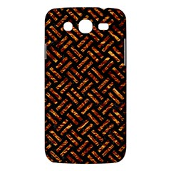 Woven2 Black Marble & Copper Foil Samsung Galaxy Mega 5 8 I9152 Hardshell Case  by trendistuff