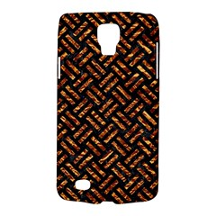 Woven2 Black Marble & Copper Foil Galaxy S4 Active by trendistuff
