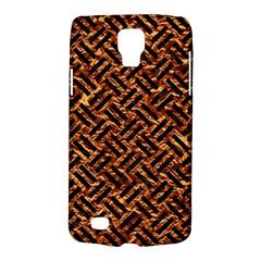 Woven2 Black Marble & Copper Foil (r) Galaxy S4 Active by trendistuff