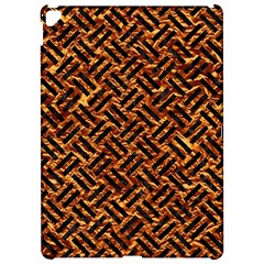 Woven2 Black Marble & Copper Foil (r) Apple Ipad Pro 12 9   Hardshell Case by trendistuff
