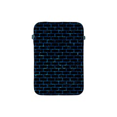 Brick1 Black Marble & Deep Blue Water Apple Ipad Mini Protective Soft Cases by trendistuff