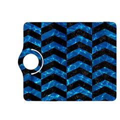 Chevron2 Black Marble & Deep Blue Water Kindle Fire Hdx 8 9  Flip 360 Case by trendistuff
