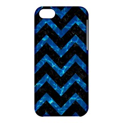 Chevron9 Black Marble & Deep Blue Water Apple Iphone 5c Hardshell Case by trendistuff