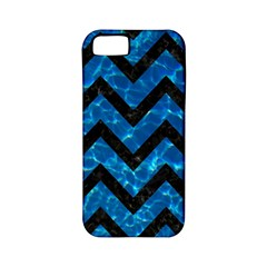 Chevron9 Black Marble & Deep Blue Water (r) Apple Iphone 5 Classic Hardshell Case (pc+silicone) by trendistuff