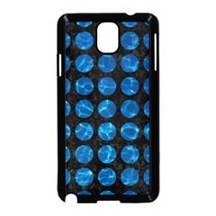 Circles1 Black Marble & Deep Blue Water Samsung Galaxy Note 3 Neo Hardshell Case (black) by trendistuff