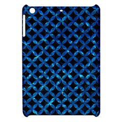 Circles3 Black Marble & Deep Blue Water Apple Ipad Mini Hardshell Case by trendistuff