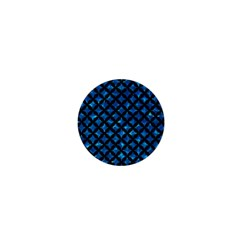 Circles3 Black Marble & Deep Blue Water (r) 1  Mini Magnets by trendistuff