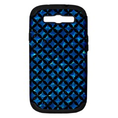 Circles3 Black Marble & Deep Blue Water (r) Samsung Galaxy S Iii Hardshell Case (pc+silicone) by trendistuff