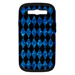 Diamond1 Black Marble & Deep Blue Water Samsung Galaxy S Iii Hardshell Case (pc+silicone) by trendistuff