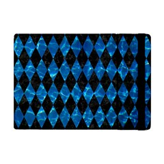 Diamond1 Black Marble & Deep Blue Water Apple Ipad Mini Flip Case