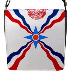 Assyrian Flag  Flap Messenger Bag (s) by abbeyz71