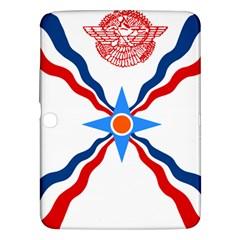 Assyrian Flag  Samsung Galaxy Tab 3 (10 1 ) P5200 Hardshell Case  by abbeyz71